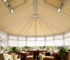 Conservatory roof blinds from Hillarys
