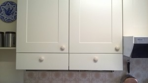 Standard size doors and spare drawer fronts